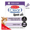 Thuốc trị ve rận cho mèo Bob Martin Clear Flea and Tick Skin Kind Spot-on for Cats and Kittens
