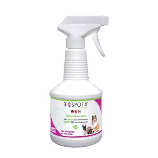 Thuốc xịt trị ve chó BIOSPOTIX Natural Flea and Tick Repellent Infestations