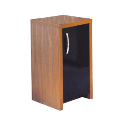 Tủ để bể cá cảnh Aqua One Inspire 40 Walnut Cabinet With Black Gloss Door