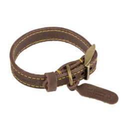 Vòng cổ cho chó Ancol Timberwolf Leather Dog Collar Small