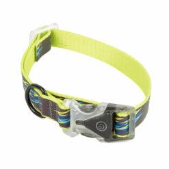 Vòng cổ cho chó Dog Walk Reflective Rainbow Dog Collar