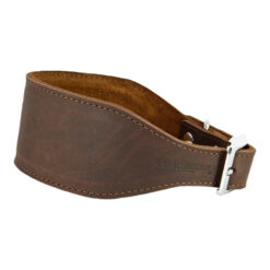 Vòng cổ cho chó Earthbound Leather Whippet Collar Brown