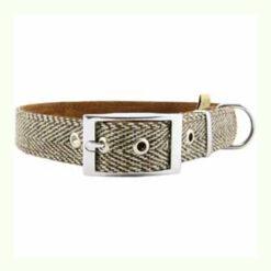 Vòng cổ cho chó Earthbound Tweed Dog Collar Beige