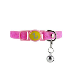 Vòng cổ cho mèo Be One Breed Silicone Cat Collar Pink