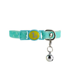 Vòng cổ cho mèo Be One Breed Silicone Cat Collar Turquoise