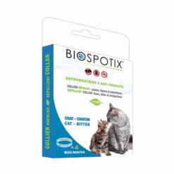 Vòng cổ trị ve rận cho mèo BIOSPOTIX Natural Flea and Tick Repellent Water Resistant