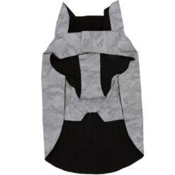 Áo khoác cho chó 3 Peaks Adventure Reflective Camouflage Print Dog Jacket Grey
