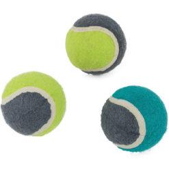 Bóng đồ chơi cho chó 3 Peaks Rubber Tennis Ball Dog Toy 3 Pack