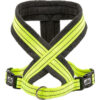 Dây xích ngực cho chó 3 Peaks Fleece Lined Dog Harness Neon/Grey Medium