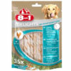 Xương gặm sạch răng cho chó 8in1 Dental Delights Twist Sticks Chicken and Rawhide Dog Chew 35 Pack