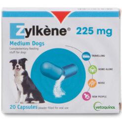 Thuốc an thần cho chó Zylkene 225mg for Medium Dogs 20 Capsules