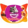 Bánh thưởng cho mèo Whiskas Temptations Cat Treats with Beef
