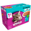 Thức ăn cho mèo Whiskas 1+ Adult Cat Food Pouches Fish Selection in Jelly