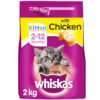 Thức ăn cho mèo Whiskas 2-12 Months Kitten Complete Dry Cat Food with Chicken