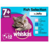 Thức ăn cho mèo Whiskas 7+ Senior Cat Food Pouches Fish Selection in Jelly
