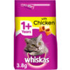 Thức ăn hạt cho mèo Whiskas 1+ Adult Complete Dry Cat Food with Chicken