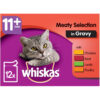 Thức ăn ướt cho mèo Whiskas Pure Delight 7+ Senior Cat Food Pouch Meaty Selection in Jelly